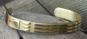 Atlantis armband in goud.